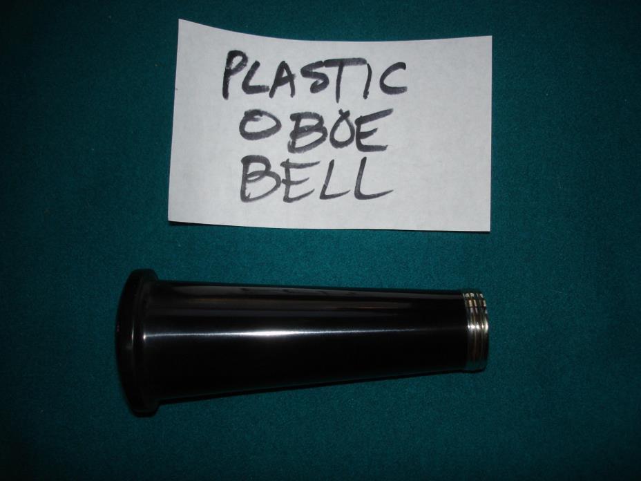 Plastic Oboe Bell (repair part) - used