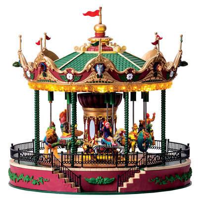 Lemax 2017 Jungle Carousel #64155 NIB