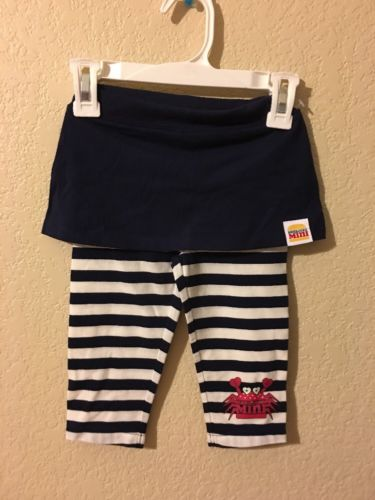 Harajuku Mini Girls Skirt With attached Leggings Pants Infant Size 18M