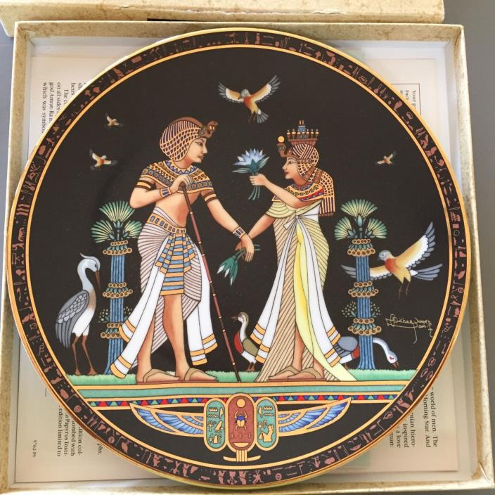 THE MARRIAGE OF TUTANKHAMUN Plate 2 The Legend of Tutankhamun Series 1991