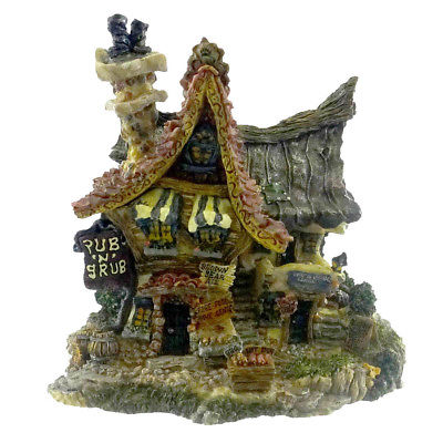 Boyds Bears Resin PUB N GRUB Resin Baerly-Built Villages 19021 RFB
