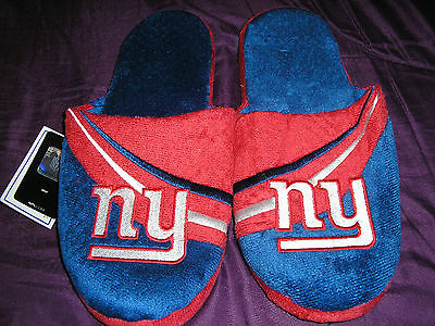 New York Giants Mens Slip On Slippers rbw Style 2