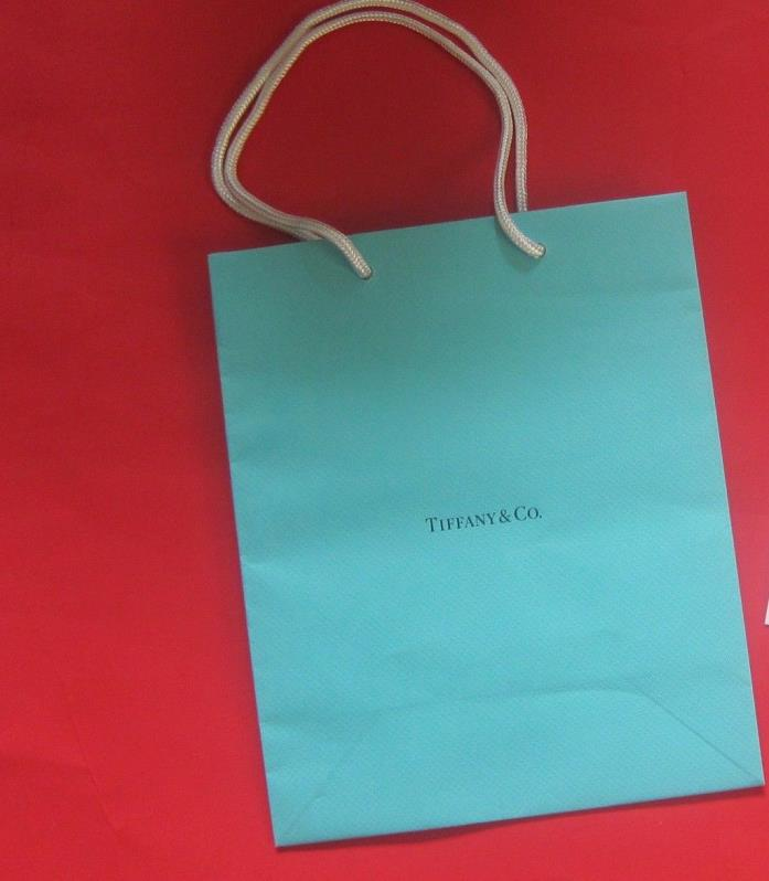 NEW! Authentic Tiffany & Co. Medium Gift Paper Shopping Bag 8