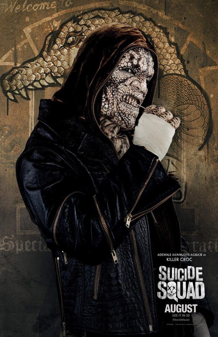 Suicide Squad Movie Poster - Killer Croc - 11