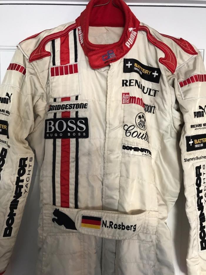NICO ROSBERG, 2005 GP2 CHAMPIONSHIP DRIVERS SUIT. PUMA, 2016 , FINAL SALE PRICED
