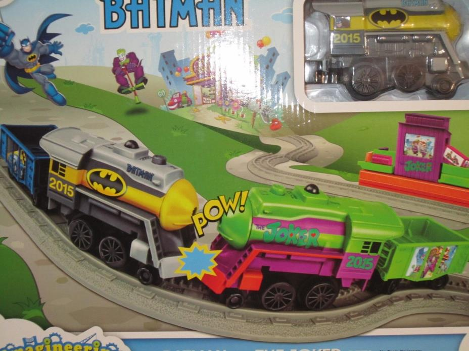Lionel Batman v Joker Imagineering Train Play Set Toy DC Comic Batmobile 7-11587
