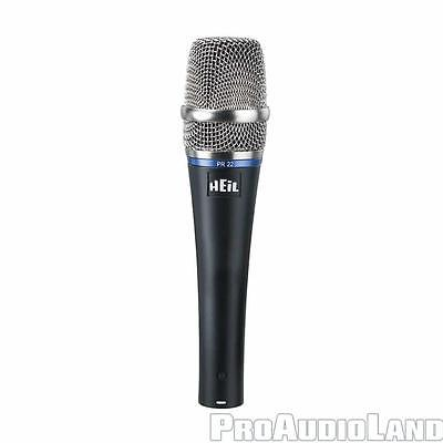 Heil Sound PR22 Dynamic Professional Vocal Microphone NEW