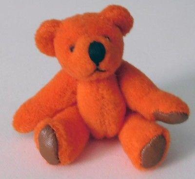 Handmade Miniature Jointed Teddy Bear