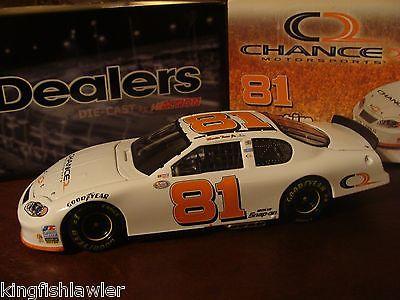 GM DEALERS (1 of 180 made) MARTIN TRUEX JR 2003 ACTION #81 CHANCE2 1:24 car