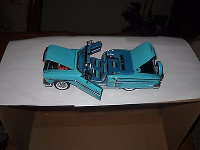 DANBURY MINT*1958 CHEVROLET IMPALA CONVERTIBLE -WITH BOX & STYRO--NO PAPERS 1/24