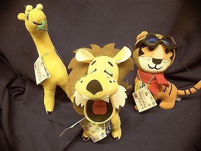 Dream Pets FLYING TIGER, LUDICROUS LION, GYPSY giraffe Dakin lot