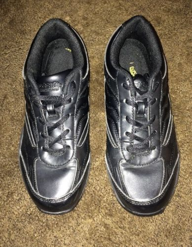 Tredsafe Black Oil & Slip-Resistant Shoes USA Men Size 7 Womens Size 9 Wide