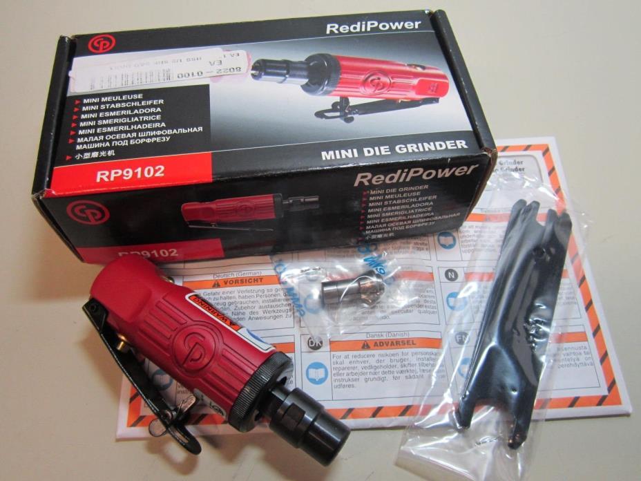 RediPower RP9102 Mini Die Grinder 30000 RPM 90PSIG 6.3 Bar NEW