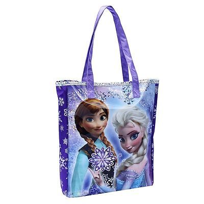 NWT DISNEY FROZEN ELSA AND ANNA GLITTER HANDBAG FOR KIDS*NRFP*