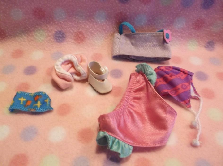 DOLL CLOTHES ACCESSORIES TOYS SET LOT GIRLS