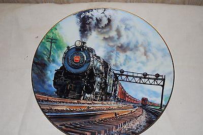 The Pennsylvania K-4  Ted Xaras The Golden Age of Railroads Hamilton Train Plate