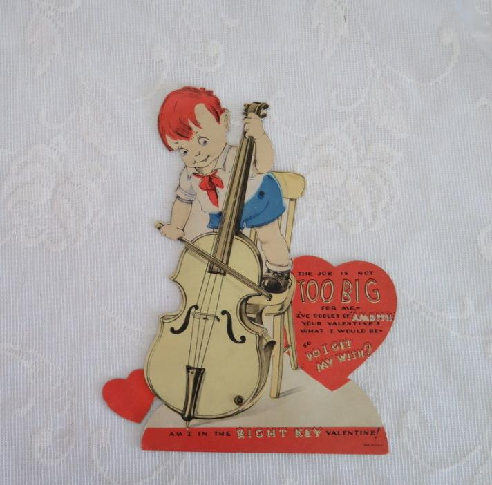 Mechanical Vintage Valentine, A Valentine Song