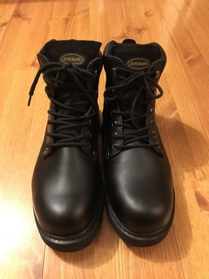 Dr. Scholl's Grafton Work Boots Oil & Slip Resistant Size 12 mens