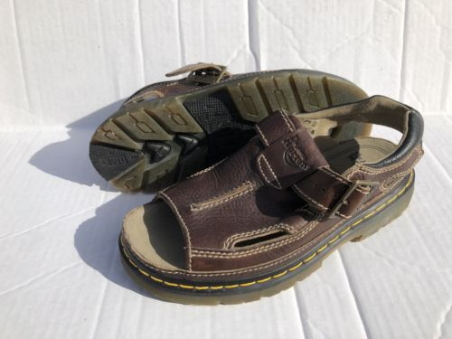 Mens Doc Martens Strap Sandals 8092 Size 11 US 10 UK NEW AIR CUSHION SOLE