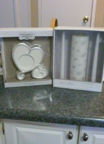 Unity Candles and Holder Set