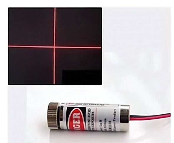 Cross Industrial Lazer Module 650nm 5mw Red Laser Module Diode Lazer 5V 1PCS