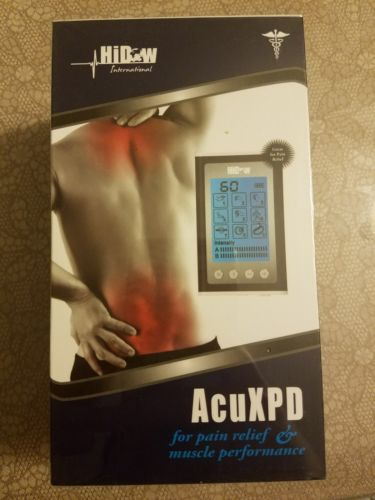 Hidow acuxpd pain relief massager and muscle performance