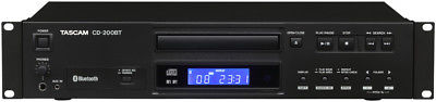 TASCAM CD-200BT Professional Rackmount Bluetooth CD PLAYER