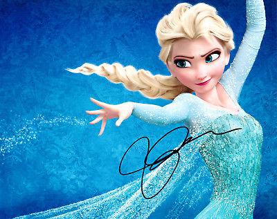 Idina Menzel Autographed 8x10 Photo Frozen (3)