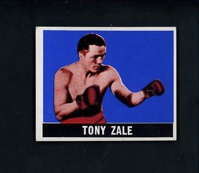1948 LEAF Boxing # 15 Tony Zale EX++ condition Boxing