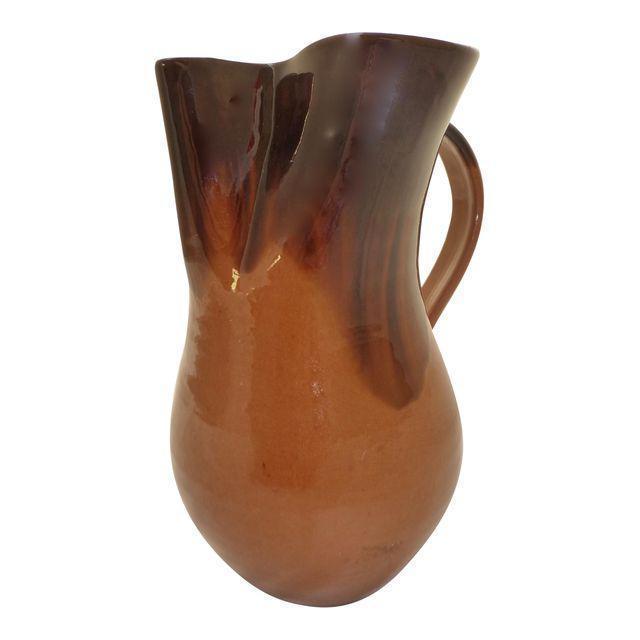 Carolina Art Pottery Water Pitcher