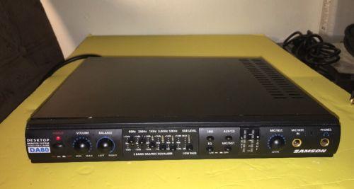 Samson DA80 Desktop Monitor System- DA80
