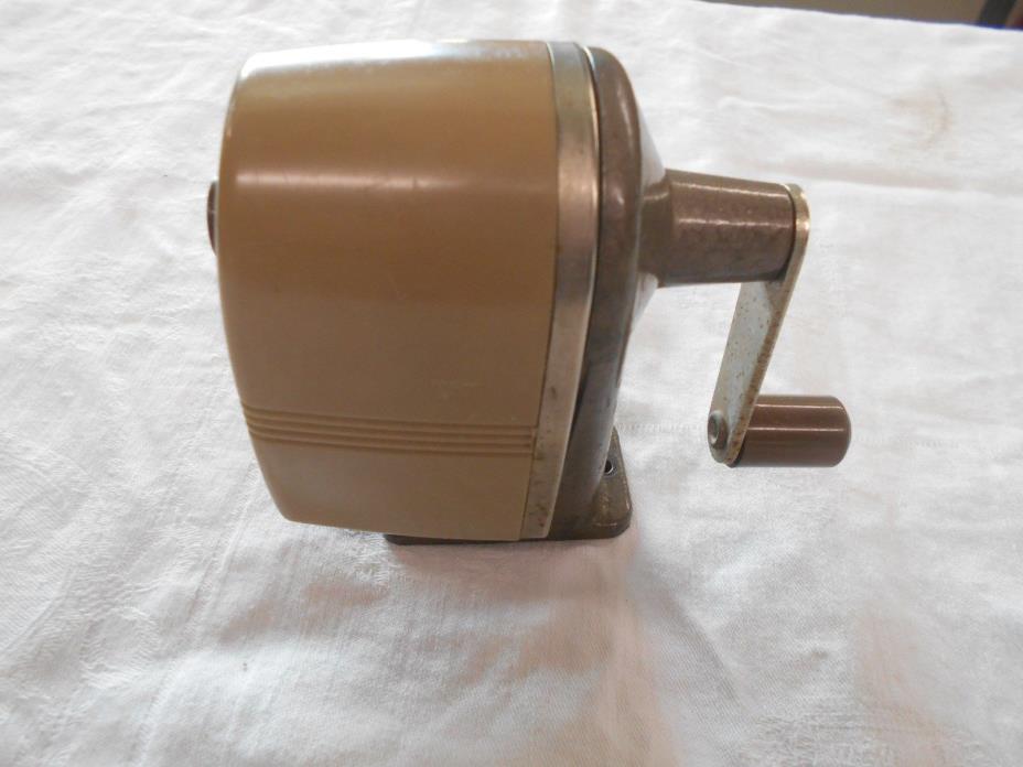 vintage Apsco Star twin cutter table top mount desk pencil sharpener