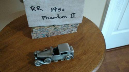 Danbury Mint Pewter - approx 1/43 scale - 1968 Rolls Royce Phantom VI