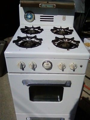 antique premier gas stove