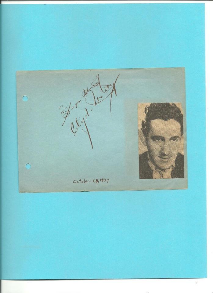 CLYDE MCCOY Autograph - Trumpet Player -