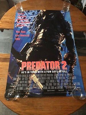 PREDATOR 2  - VINTAGE MOVIE POSTER!