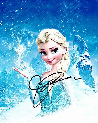 Idina Menzel Autographed 8x10 Photo Frozen (4)