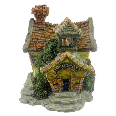 Boyds Bears Resin BOYDS BEARLY A SCHOOL Resin Bearly-Built Villages 19004 RFB