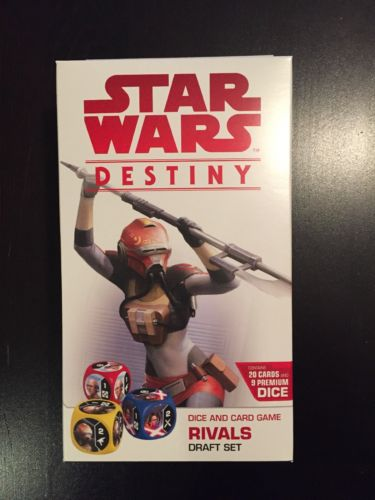 Star Wars Destiny Rivals Draft Set Sealed In Hand