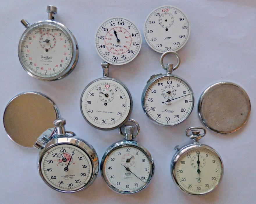 STOPWATCH  TIMER   - PARTS - EXCELSIOR PARK