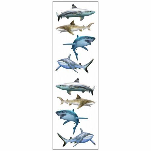 Mrs Grossman's Stickers - Shark World Animal Photos