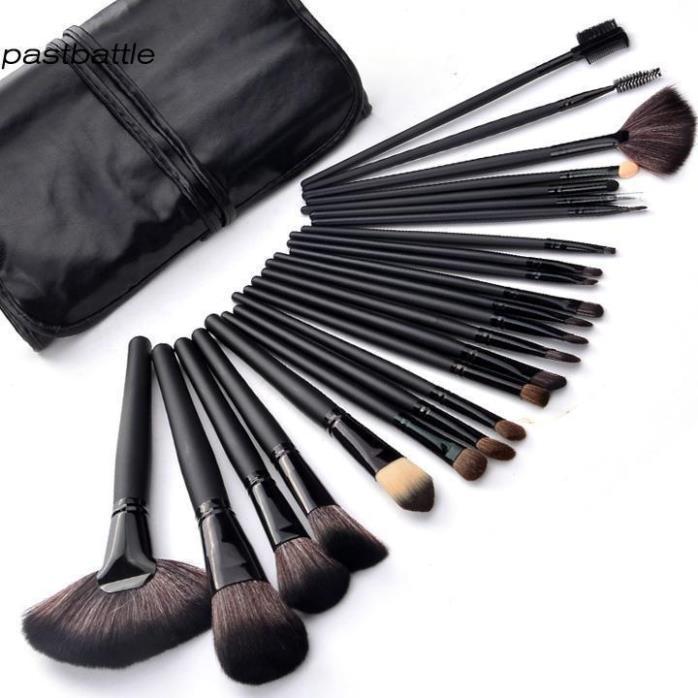 HOT !! Professional 24 pcs Makeup Brush Set tools Make-up Toiletry Kit US Stocks