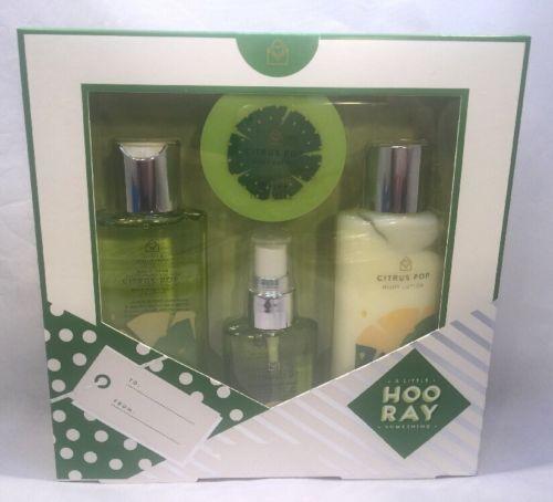 A Little Something Mini Body Care Collection, 4 pcs Set Citrus Pop Gift Set