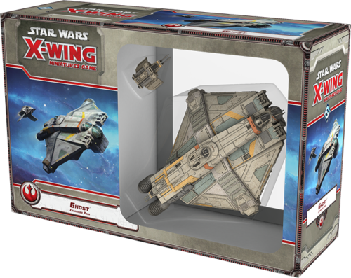 Fantasy Flight - Star Wars X-Wing Ghost Expansion Pack SWX39