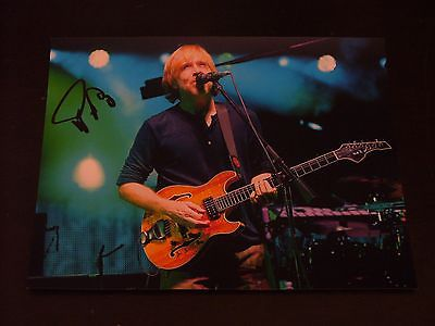 Trey Anastasio In Person Hand Signed 10x8 Live In Concert Photo W/ Proof+COA #3