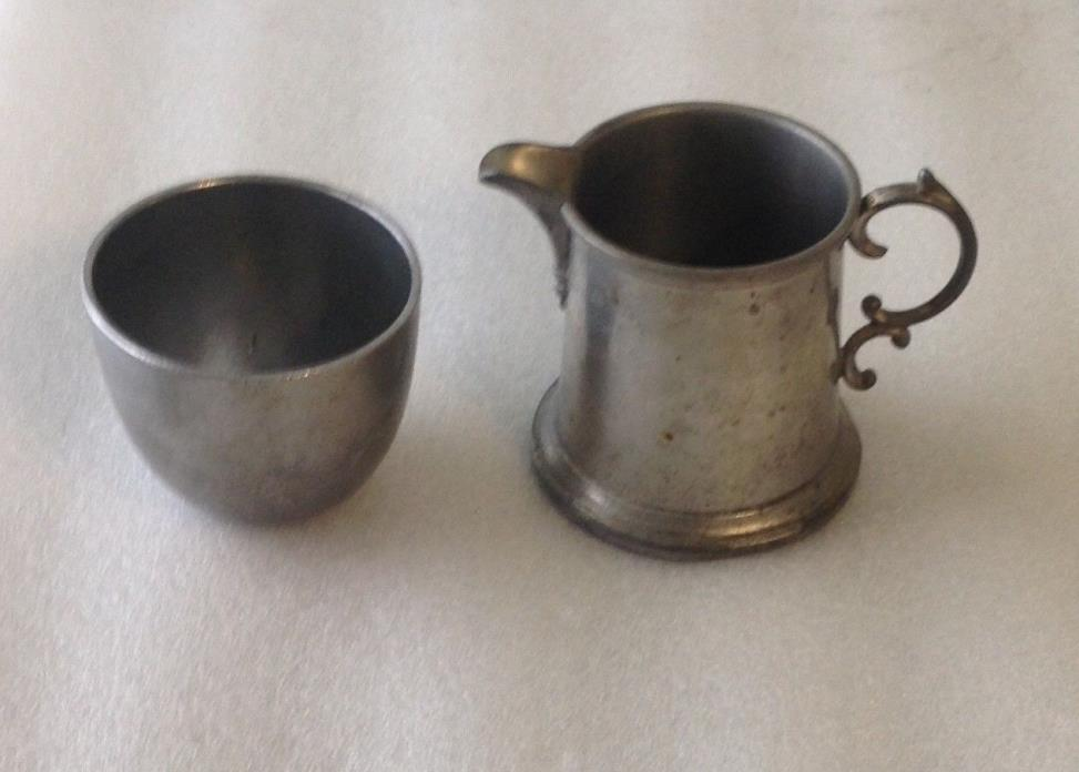 PEWTER JEFFERSON CUP BY EALES AND TANKARD BY BOARDMAN