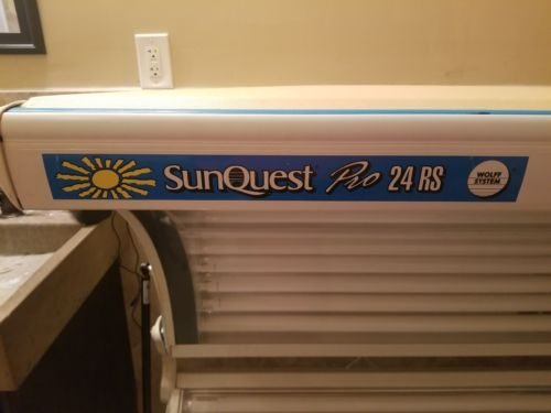 Sunquest Pro 24 RS Tanning Bed
