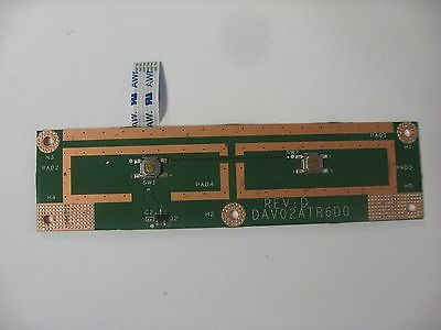 Dell Inspiron N4110 Series L + R Mouse Button Board DAV02ATR6D0 X8RJW (N5-13)