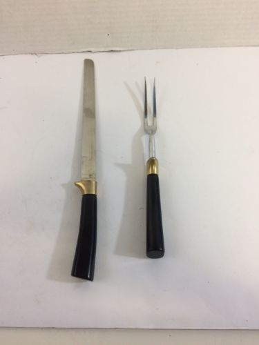 Peeredge 2 Piece Carving Set No Box Blade Made In England Fast Shipping