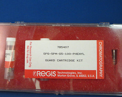 Regis Semi-Permeable Surface (SPS) Column Guard Cartridge Kit S5 Phenyl 785407